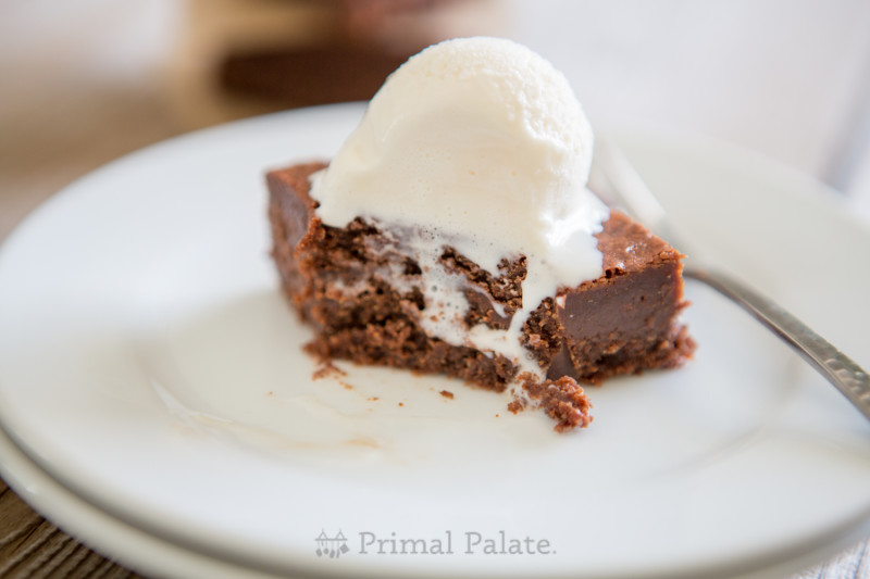 Paleo Nut-free Fudgy Brownies-19