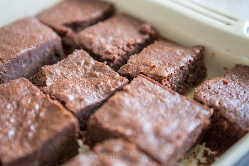 Paleo Nut-free Fudgy Brownies-22