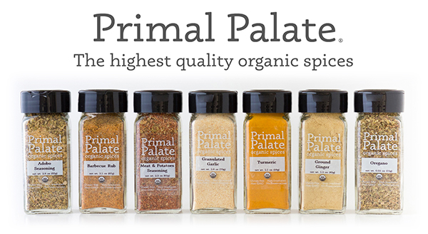 Primal Palate Organic Spices - Header Image for email