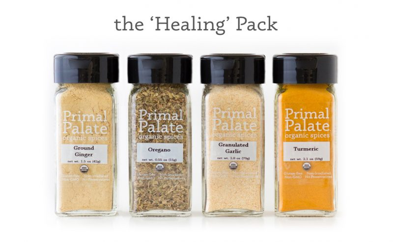 Primal Palate Organic Spices- Healing Pack - long crop with text
