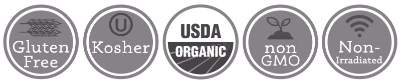 Primal Palate Organic Spices - Quality logos