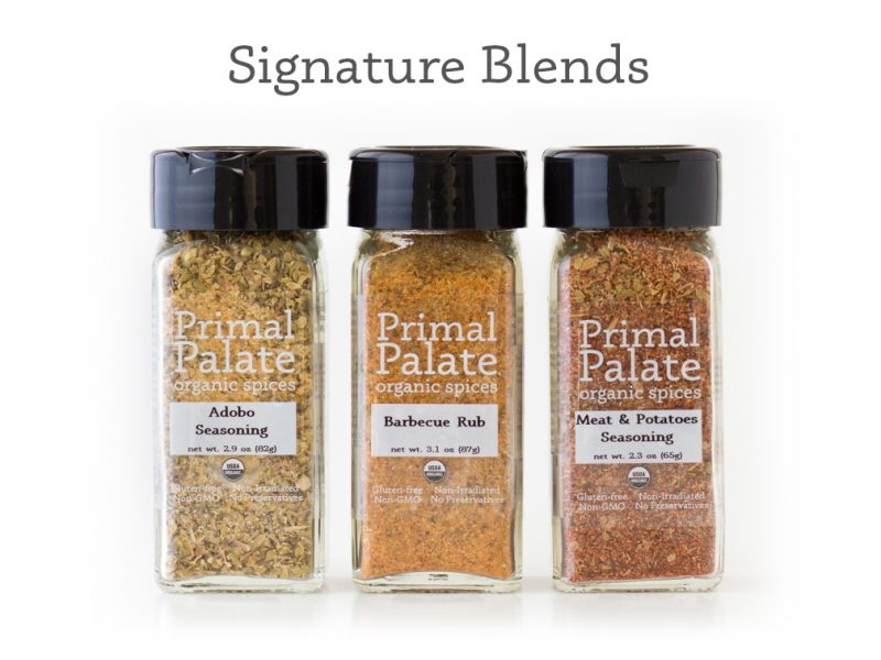 Primal Palate Organic Spices-Signature Blends - long crop with text