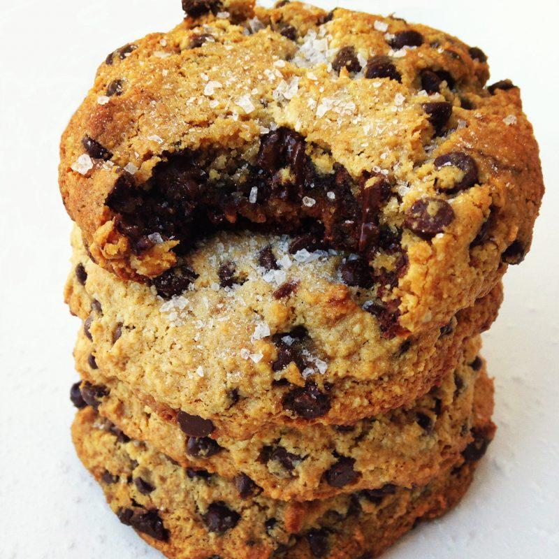Sea Salt Nutella Cookies