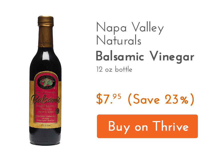 Napa Valley Naturals Balsamic Vinegar Gluten Free