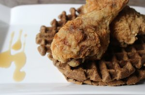 Chicken and Waffles Down south Paleo