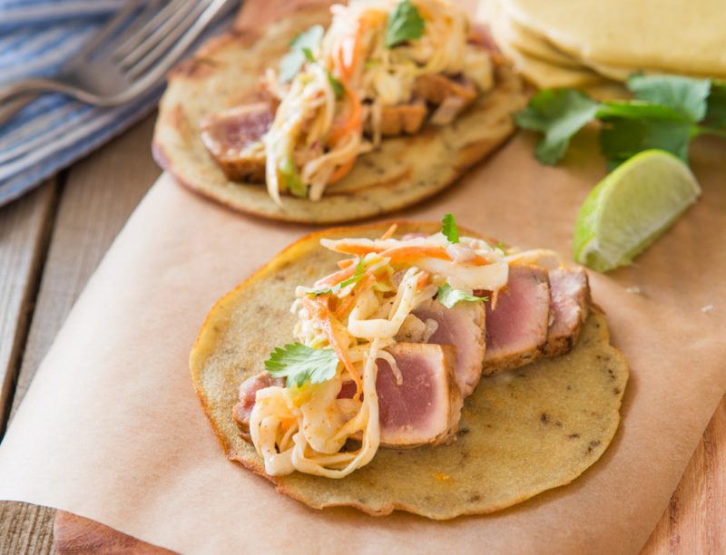 Fish tacos with smoky slaw recipe from make it paleo 2 for Making fish tacos