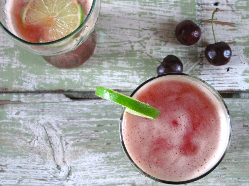 Sparkling Cherry Limeade Recipe