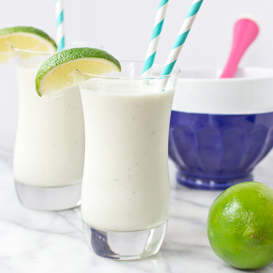 Coconut Lime White Chocolate Shake Recipe