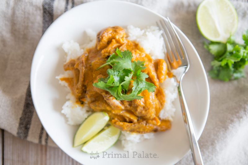 Paleo Chicken Tikka Masala -13