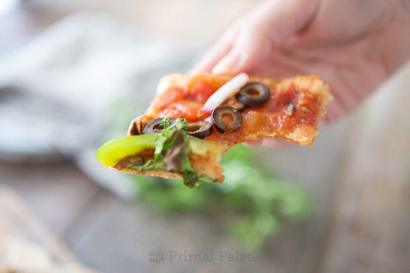 Paleo Yuca Pizza Crust-15