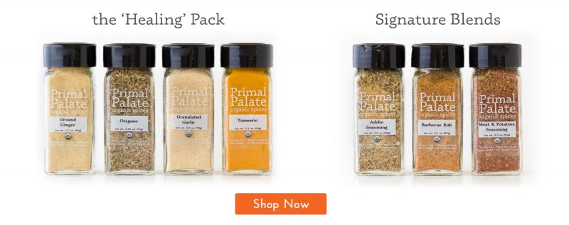 Primal Palate Organic Spices- Both Packs Shop Now