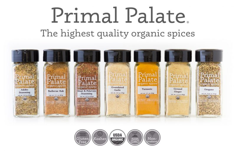 Primal Palate Organic Spices - Movie End Screen