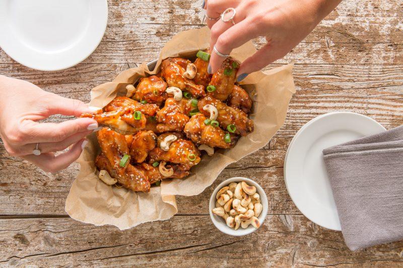 chicken wings spread