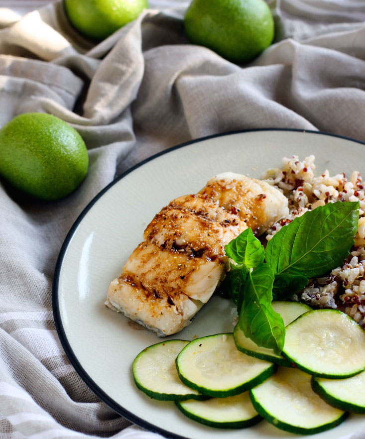 Ginger Lime Tamari Gluten-free Baked Cod Recipe