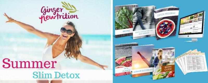 Ginger Newtrition Summer Slim Detox 1