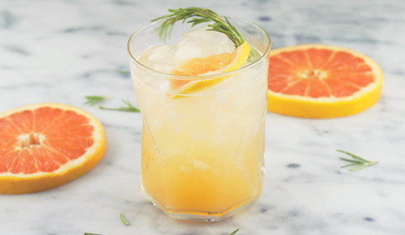 Grapefruit Rosemary Fizz Recipe