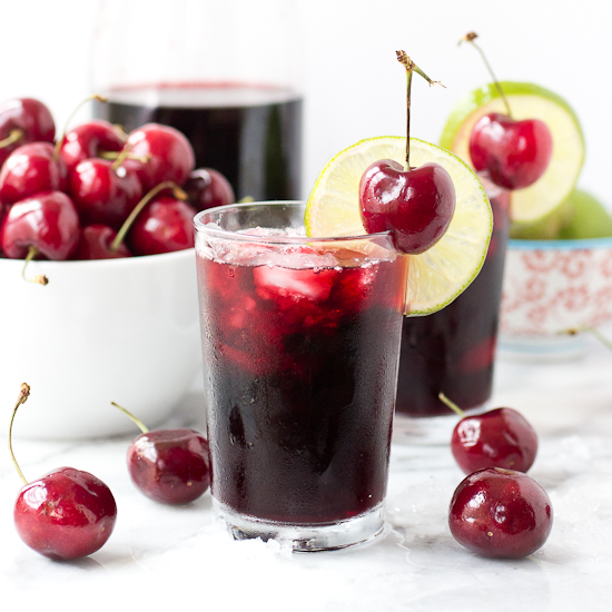Cherry Lime Slushie Recipe