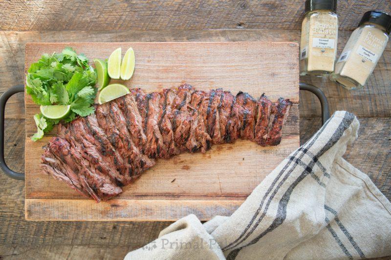 Paleo Chipotle Lime Skirt Steak-1
