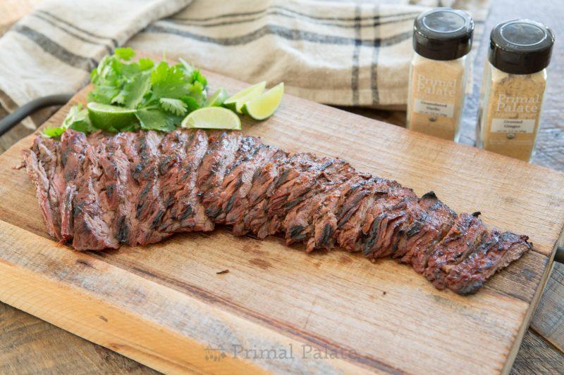 Chipotle Lime Skirt Steak Recipe