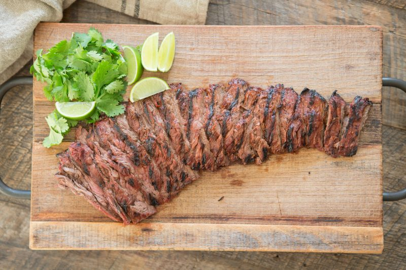 Paleo Chipotle Lime Skirt Steak-4