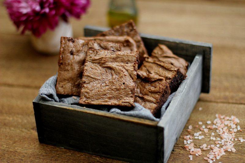 Flourless Olive Oil and Sea Salt Brownie Recipe