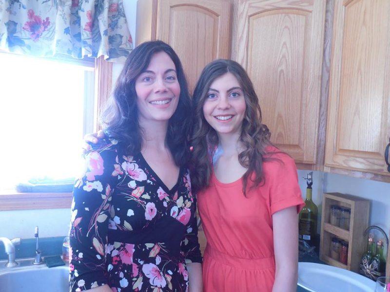Heather and Mom