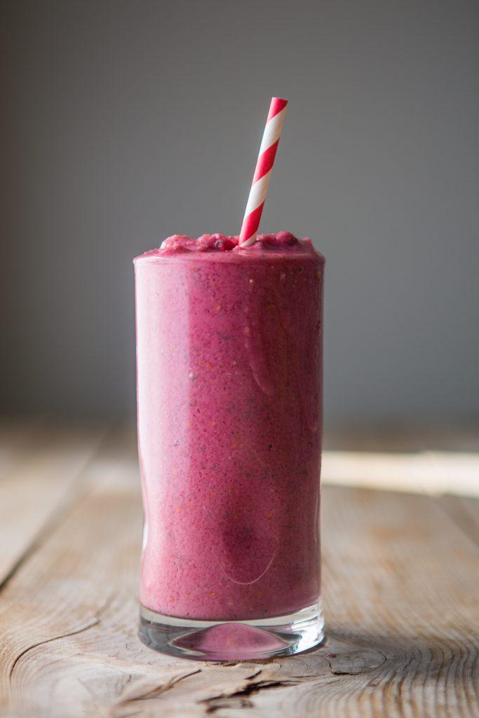 Hayley's Raspberry Smoothie Recipe