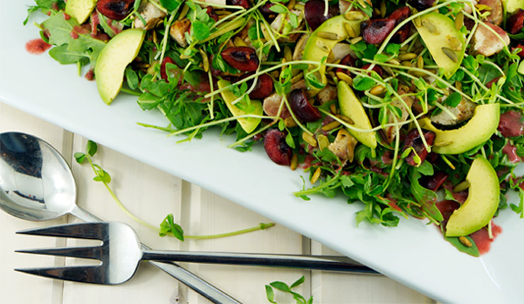 Arugula-Avocado-Salad-With-Cherry-Vinaigrette-PP