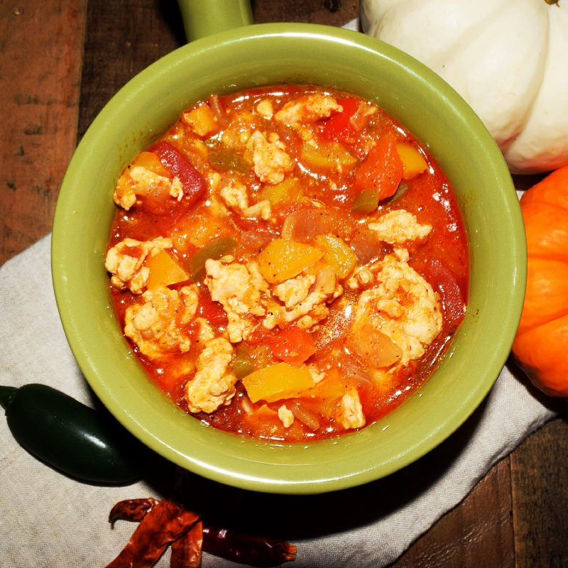 Game Day Pumpkin Chili Recipe