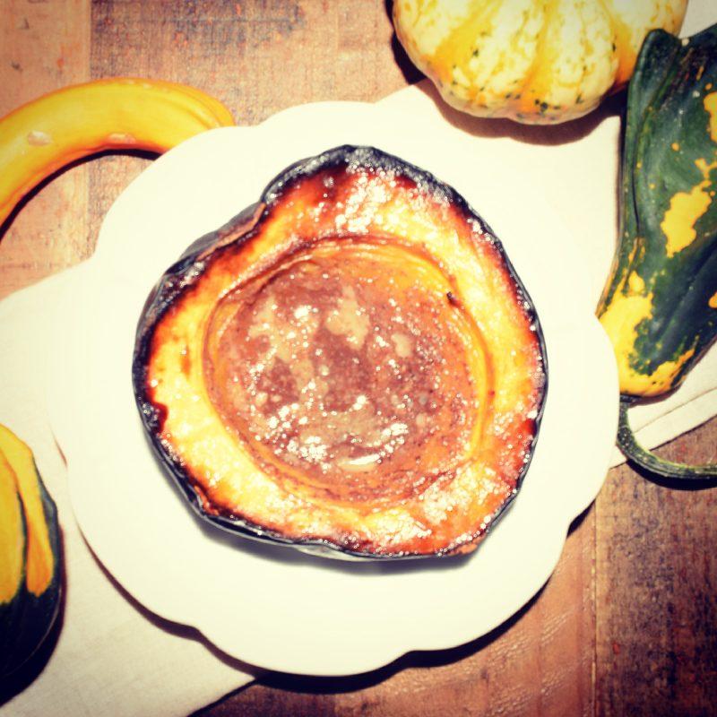Maple Roasted Acorn Squash Recipe