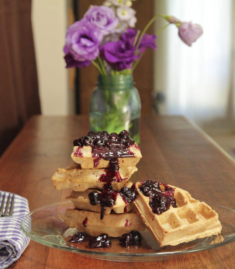 Nut-Free Paleo Waffles Recipe