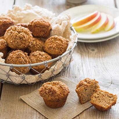 Paleo Apple Streusel Muffins