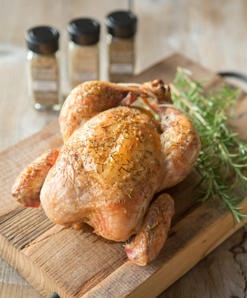 Simple Roast Herb Chicken-1