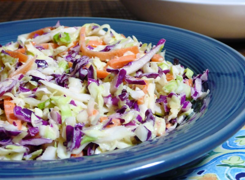 Tangy Coleslaw.