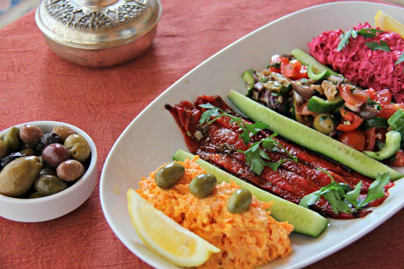 Turkish Meze Platter Recipe