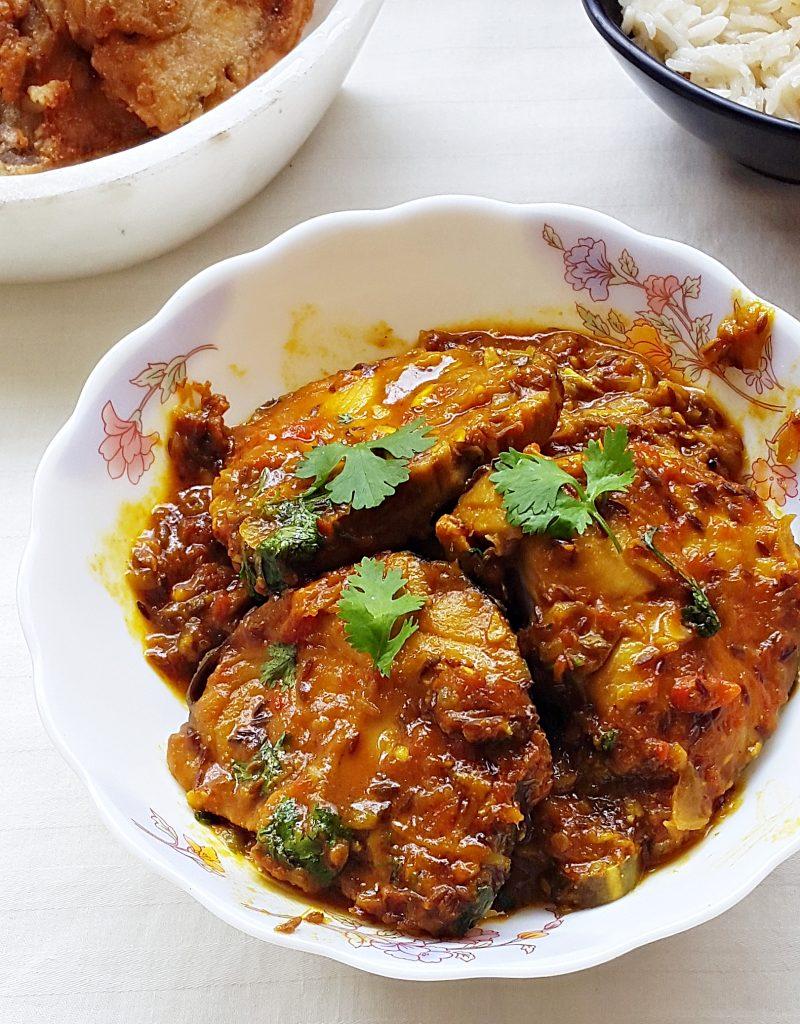Tamarind king fish curry – king fish/king mackerel in tamarind sauce Recipe