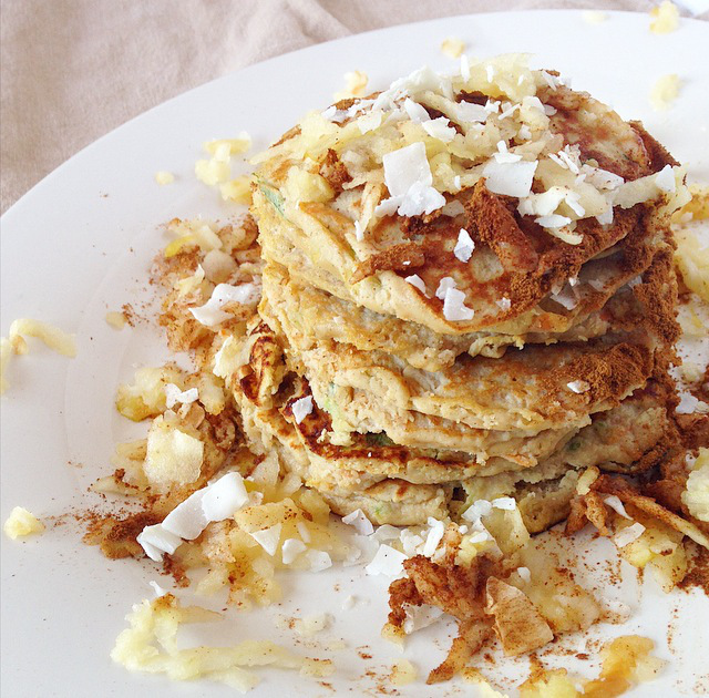 Paleo Apple Harvest Pancakes Recipe