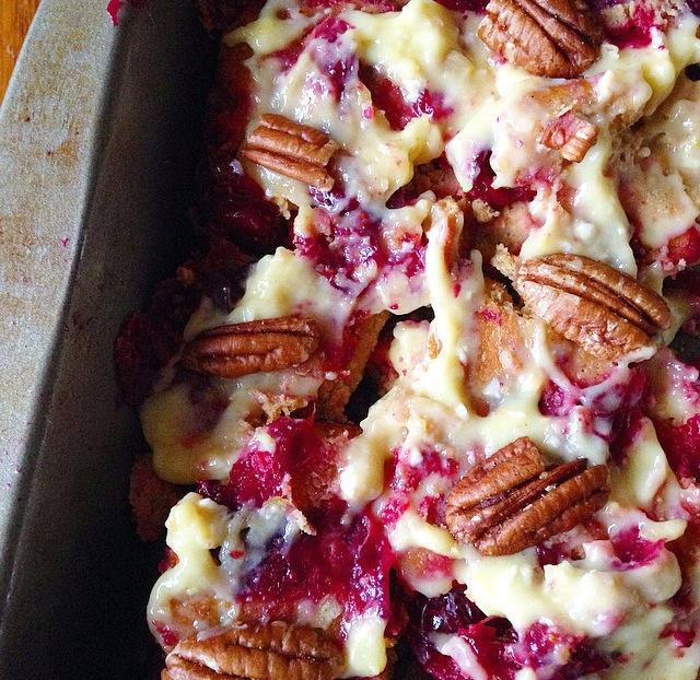 Paleo Cranberry Lemon Upside Down Cake Recipe