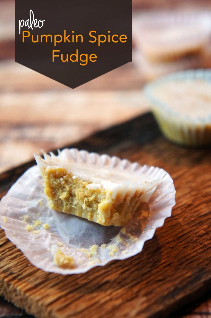 Paleo Pumpkin Spice Fudge Recipe