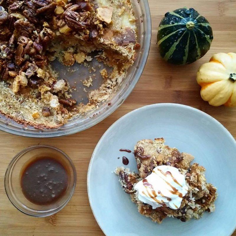 Leftover Pumpkin Pie Casserole Recipe