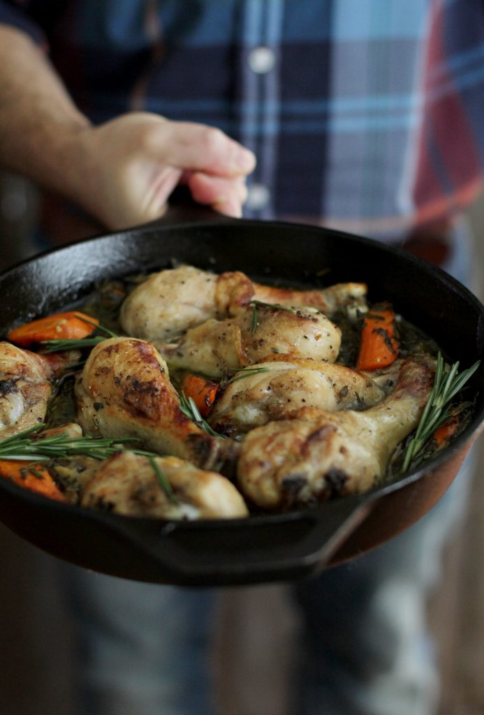 Cider Braised Chicken Recipe