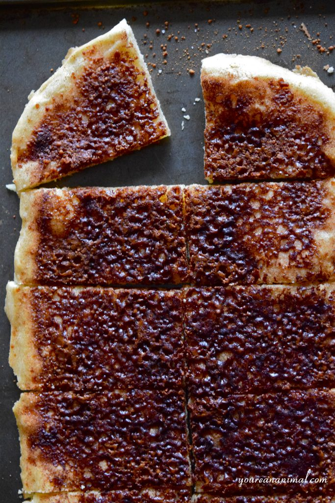Cinnamon Crunch Flatbread Recipe