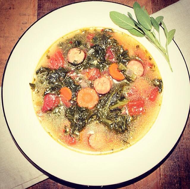 Sausage & Kale Soup Recipe