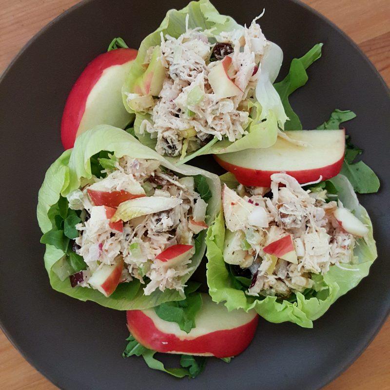 Apple Walnut Raisin Chicken Salad Recipe