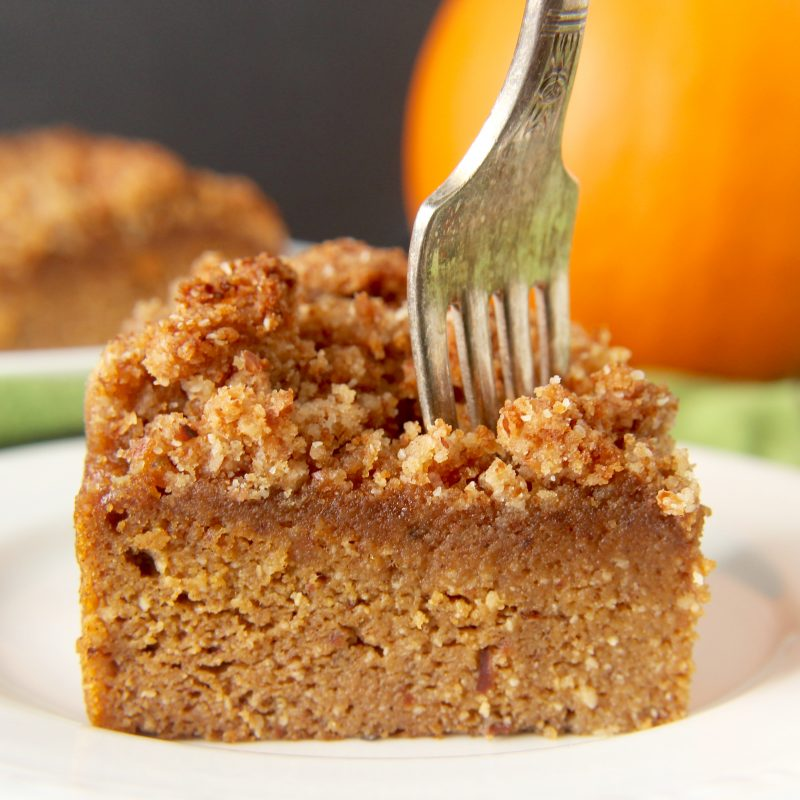 Paleo Pumpkin Coffee Cake Recipe