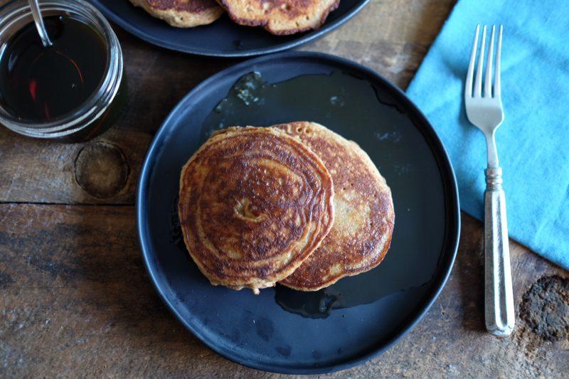 Paleo Cinnamon Spice Pancakes one