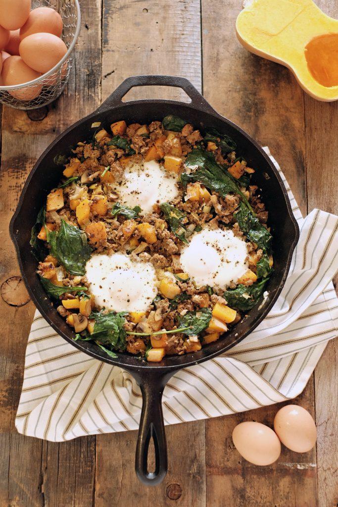 Butternut Squash Breakfast Hash Recipe
