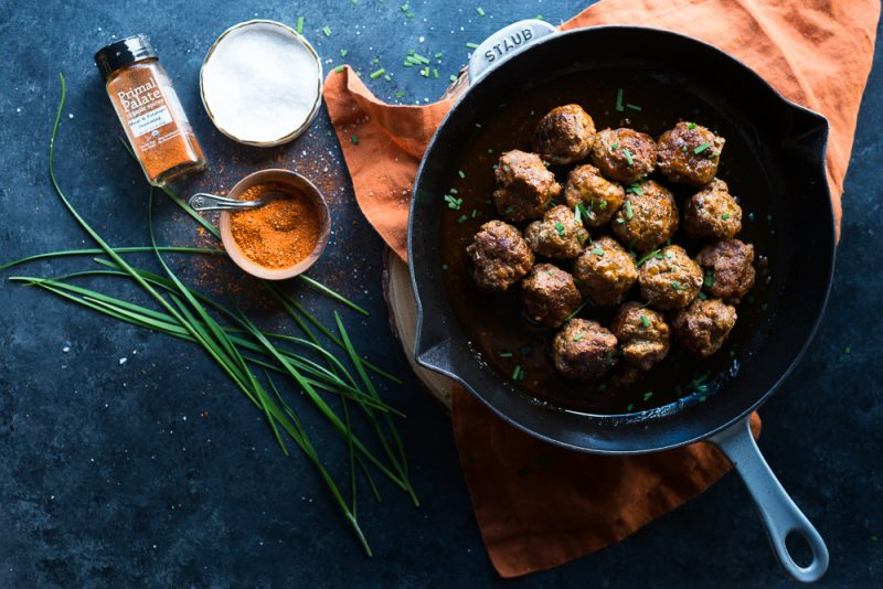 Easy Pork and Beef Meatballs Recipe