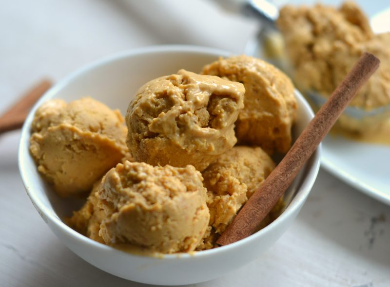 The Best Paleo Pumpkin Ice Cream Recipe