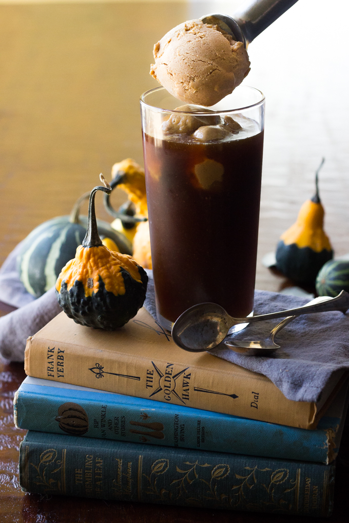 Pumpkin Spice Float top